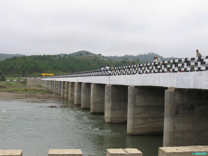 Serou Bridge over Chakpi river - longest bridge of Manipur :: 24 October 2011