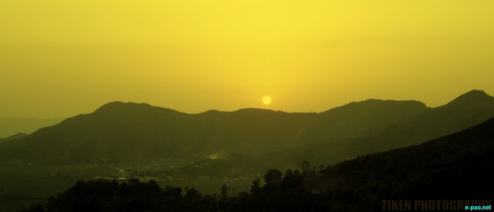 Breath-Taking landscape picture of Manipur as seen through the lenses of Tiken Thokchom :: 2012
