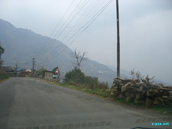 National Highway 39 - Imphal to Kohima :: March 2009