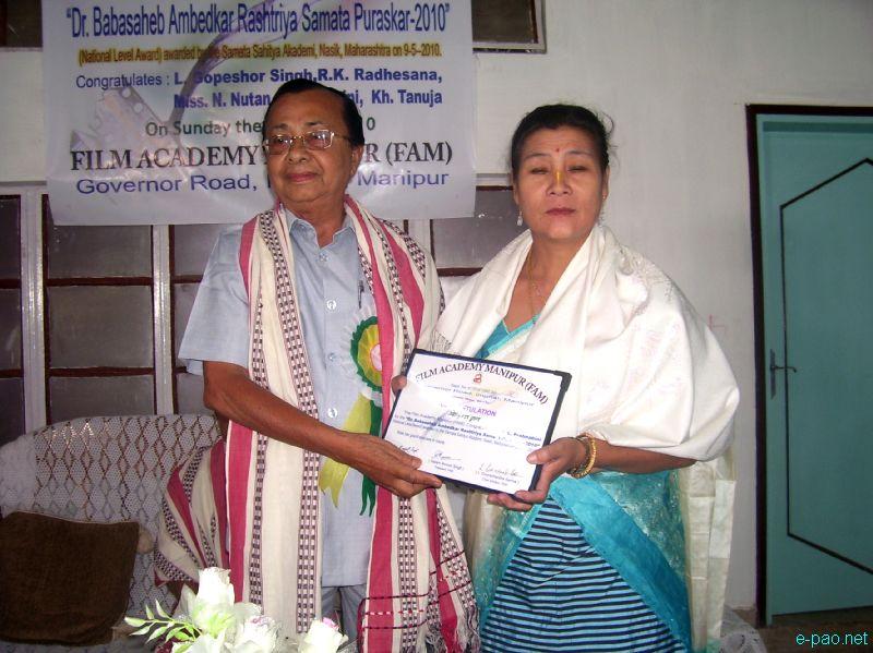 Dr Babasahed Ambedkar Rastriya Samata Puraskar 2010 Awardees :: June 2010
