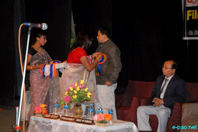 5th RJ Film Vision Special award 2010 held at Rupmahal Theatre, Imphal :: 12th Feb 2011