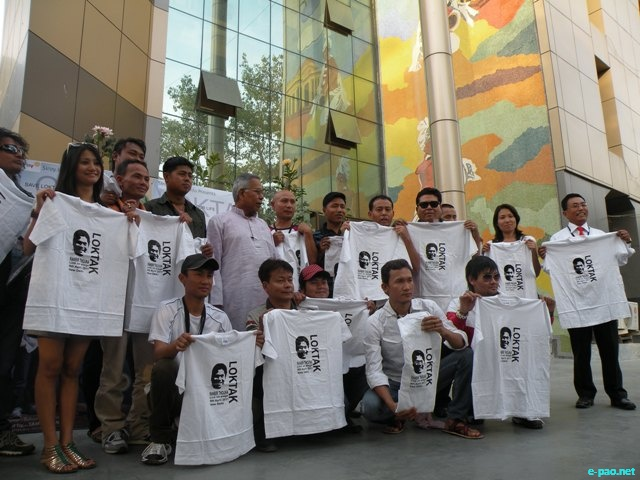 Save Loktak Our Life at Manipur Bhavan, Bir Tikendrajit Marg, New Delhi on April 08 2011