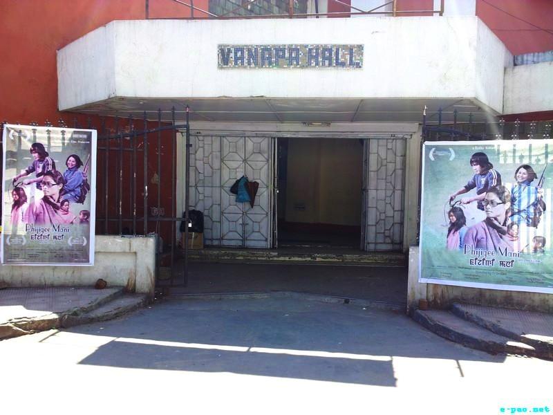 Screening of 'Phijeegi Mani' at Vanapa Hall, Aizawl :: 14 April 2012