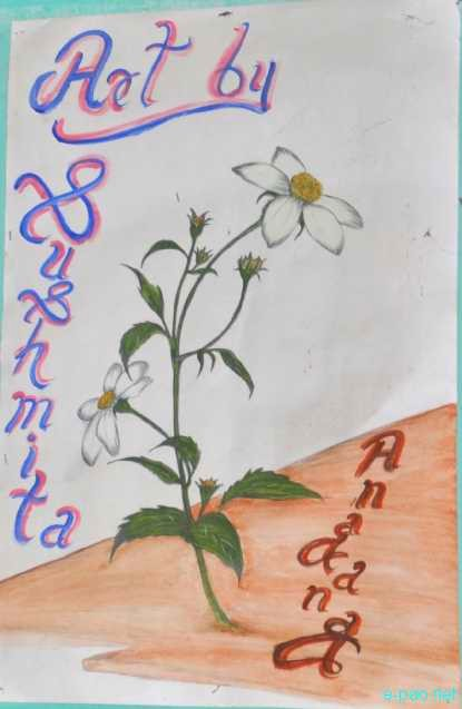 Paintings from Sushmita Mangsatabam, an upcoming young Singer :: March 2012