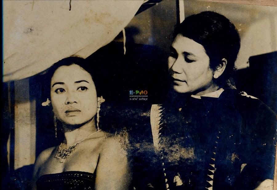 'Imagi Ningthem' - Manipuri Movie ; Rashi Devi  and Jamani   in Imagi Ningthem :: eRang Classic