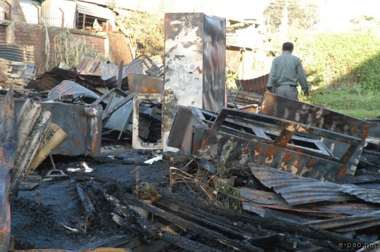 Fire Damage at MFDC :: Oct 27th 2007