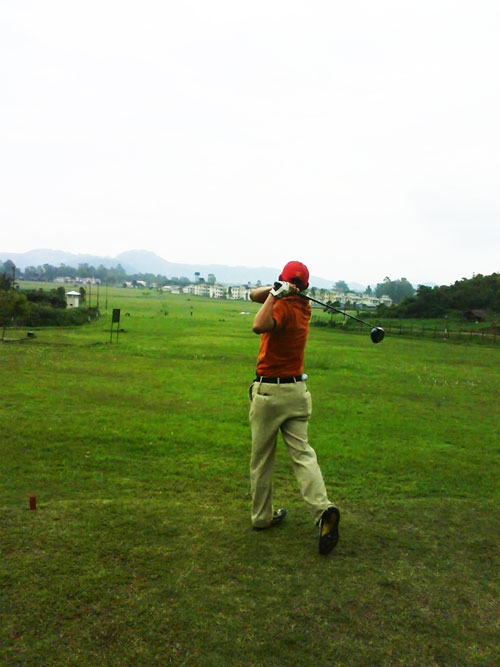 A Golf Course at Mantripukhri Manipur