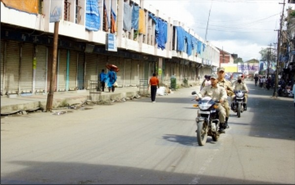 A Viewpoint on Imphal City & Traffic Problems