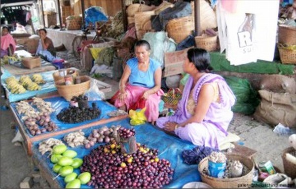 Womenfolk selling their wares : How long will it lasts ?