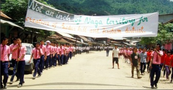 Rally at Noney against any design to bifurcate Naga areas