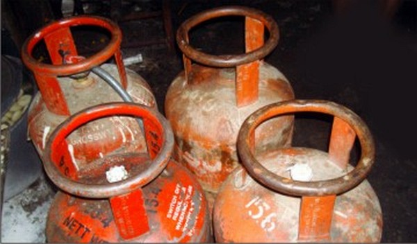 Filled LPG cylinders in the black market