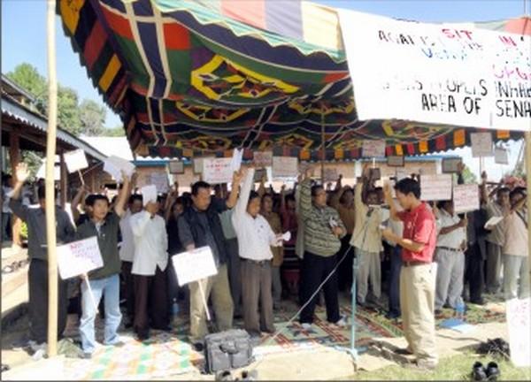 Voice raised against Sadar Hills district