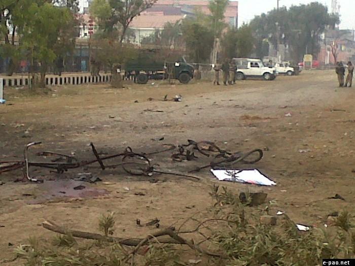 Bomb Blast during Manipur Sangai Tourism Festival on November 30 2011