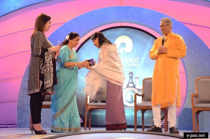Binalakshmi Nepram conferred CNN IBN Real Heroes Award 2011 :: August 17 2011