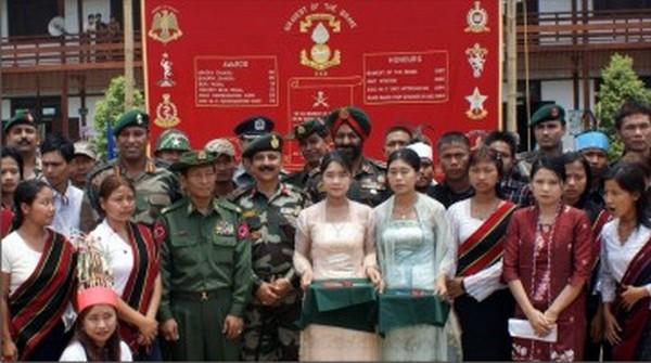 Indo-Myanmar border medical camp-File photo