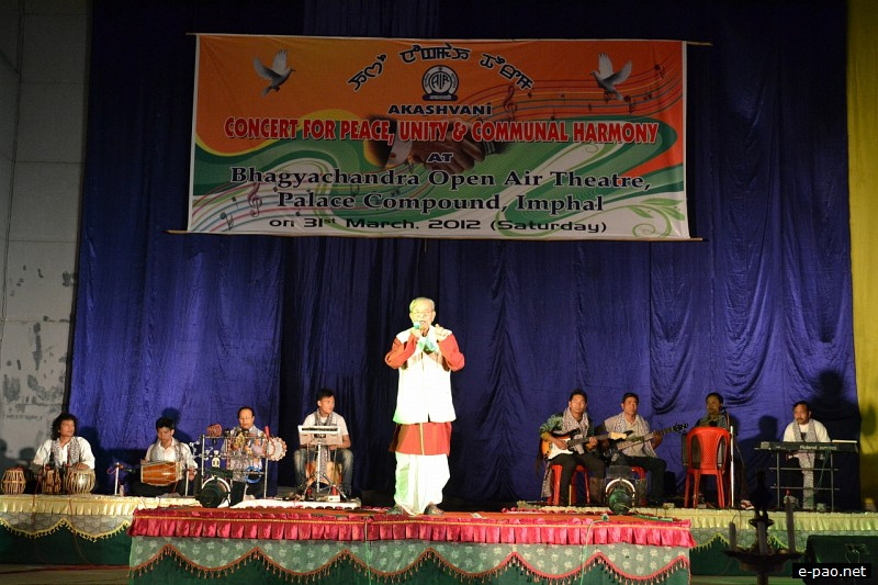 An evening of musical treat by All India Radio (AIR), Imphal for peace and unity :: March 31 2012