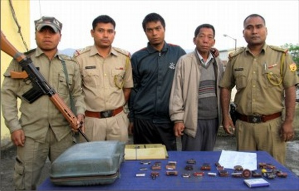 Two persons arrested with the fake document racket