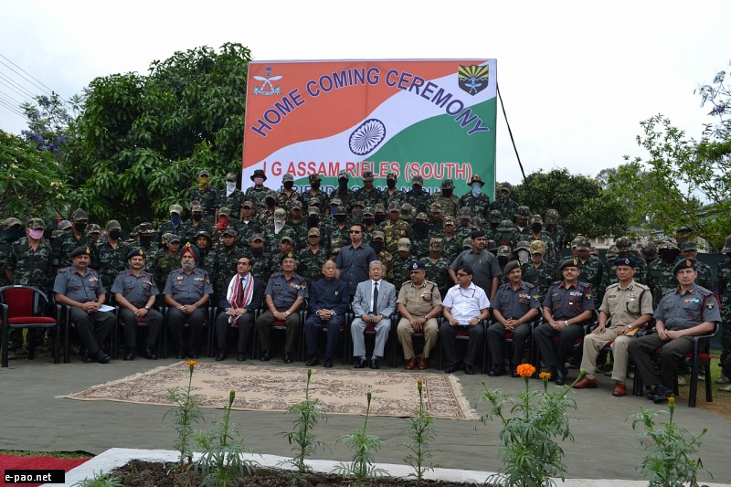 cadres of various insurgent groups operating in Manipur laid down their arms :: 30 April 2012
