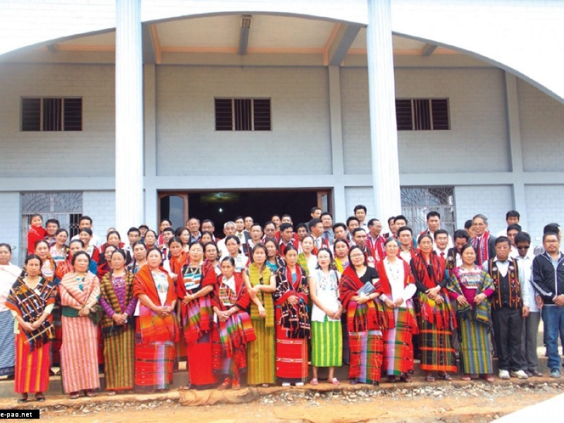 Three-day long Tangkhul Naga Wungnaolong Couples' Retreat at Thawai Village, Ukhrul  ::  April End 2012