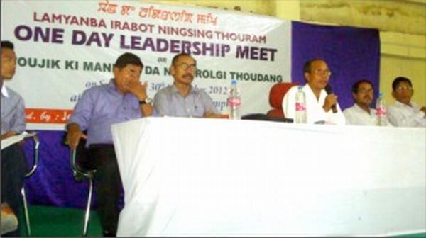 Leadership meet underway