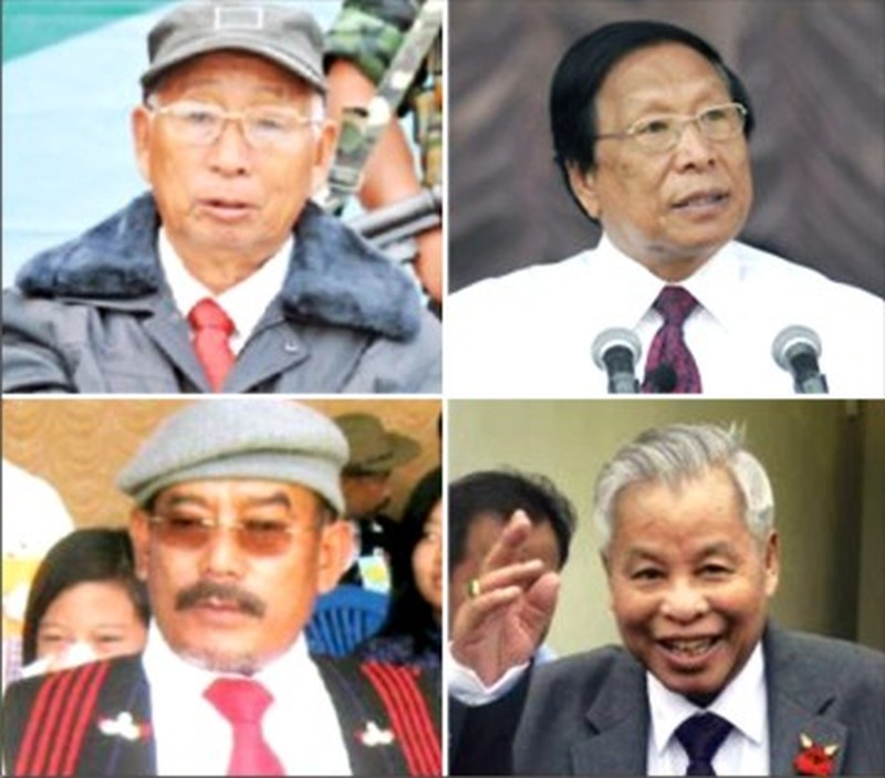 Major players in the Naga political arena