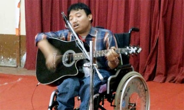 Differently abled person