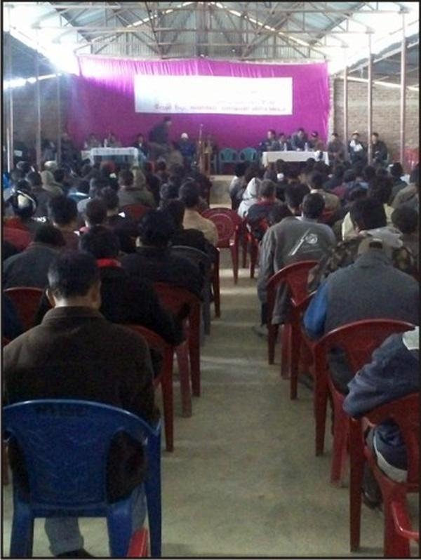 The United Naga Council awareness campaign on Naga issue