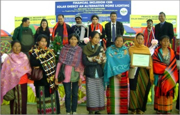 Womenfolk who have benefitted from the schemes of VVD