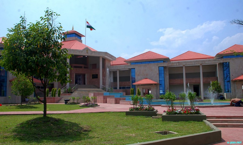 High Court Complex at Chingmeirong Imphal on April 07 2012