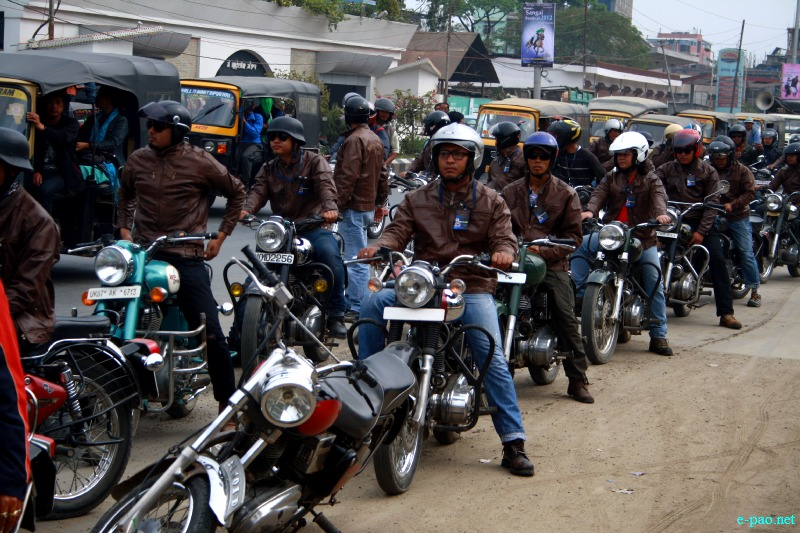 Manipur Sangai Festival 2012 Awareness Campaign Programme by Royal Riders at Imphal Hotel :: 03 November 2012