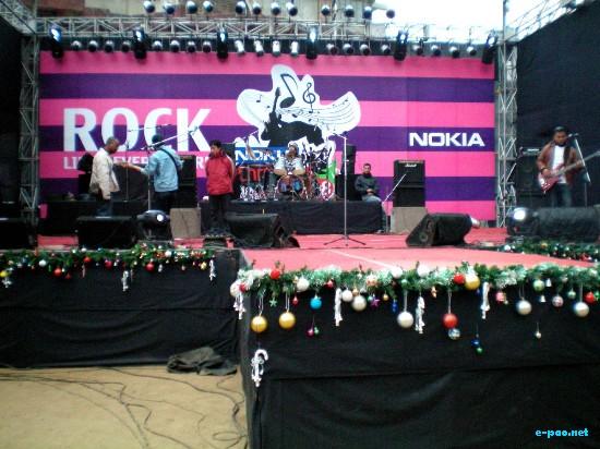 Nokia Christmas Rock festival at Shillong :: 27th Dec 2008
