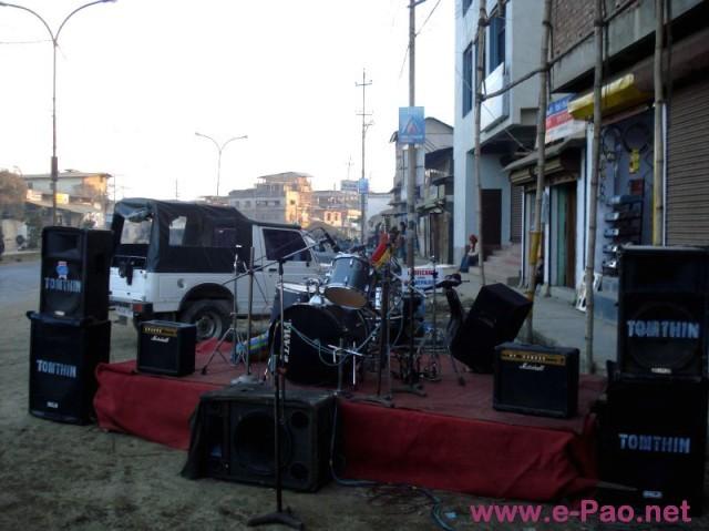 The New Year Jam - Rock Station at Yaiskul, Imphal :: 1st Jan 2009