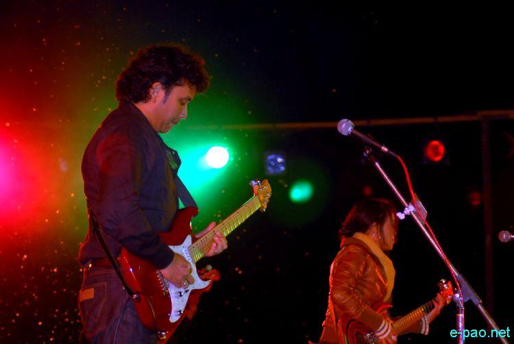 SoulMate performing at Manipur Sangai Festival 2010  :: 29 Nov 2010