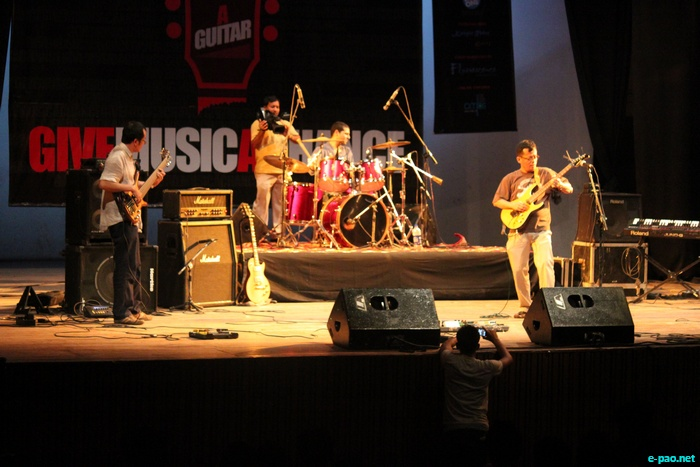 A musical concert titled Give Music A Chance was organized by A House And A Guitar at Shah Auditorium on September 23 2011.