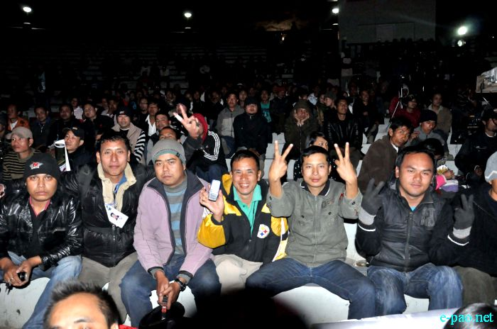 Manipur Idol Red Ribbon Superstar event :: 18th February 2011