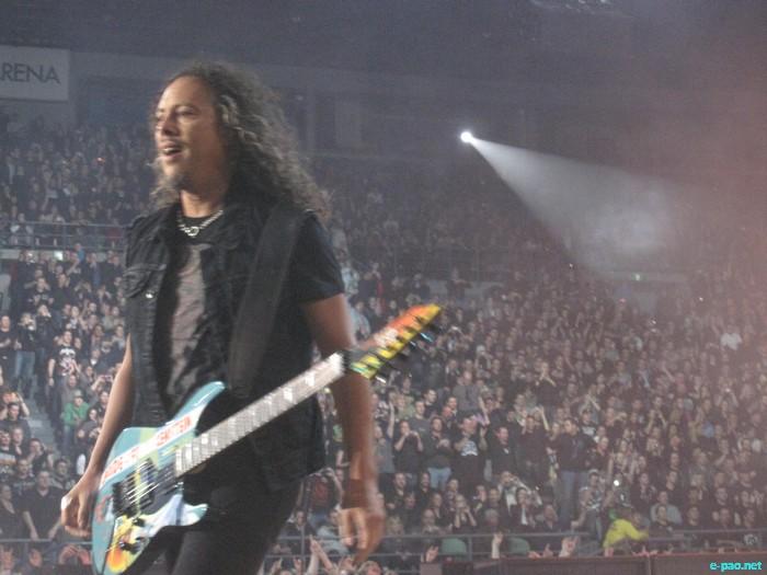 Metallica concert at Melbourne  :: April, 2011