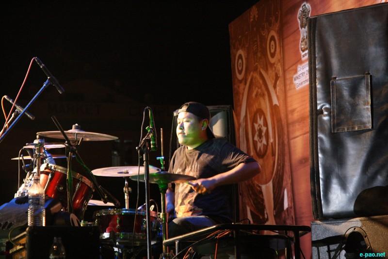 Cadence's Drummer, Khrielezo Keretsu in action.