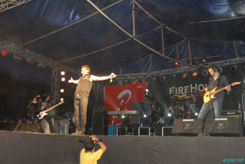 'FireHouse Rock to Rescue India Tour 2012' at Imphal :: 06 May 2012