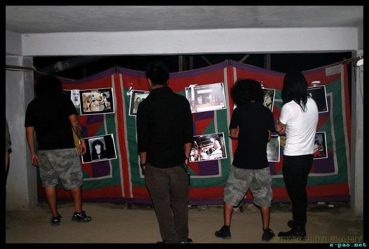 Photo Exhibition 1st Imphal Metal Convention 2012