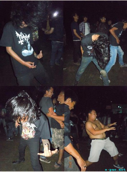 Crowd at the 1st Imphal Metal Convention - Metal Age Reloaded - 2012 on 14 April