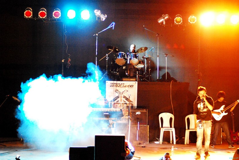 Live music show on second day of X Jam NE India Tour Shillong 2012 at NEHU Campus :: 18 August 2012