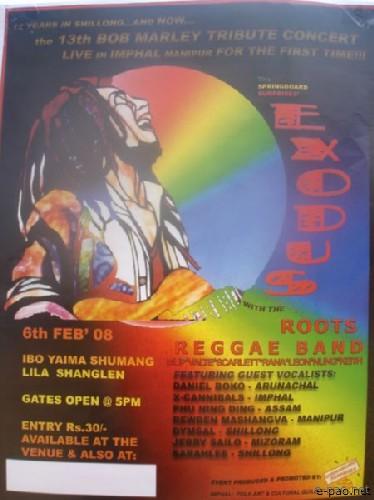 13th Bob Marley Tribute Concert :: 6th Feb 2008
