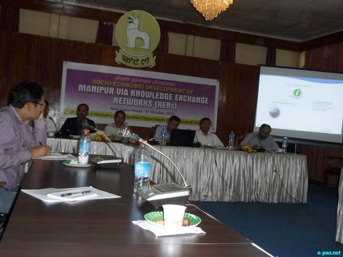 Discussion with Govt of Manipur on Knowledge Exchange Networks :: 06 October, 20119