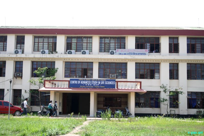 Center of Advanced Study in Life Science at Manipur University (MU), Canchipur in April 2012 :: Pix - Deepak Oinam