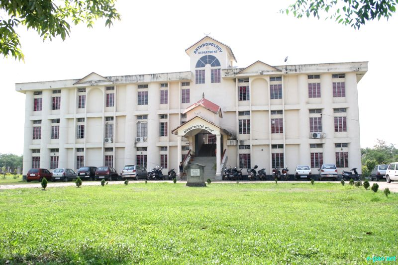 Anthropology Department at Manipur University (MU), Canchipur