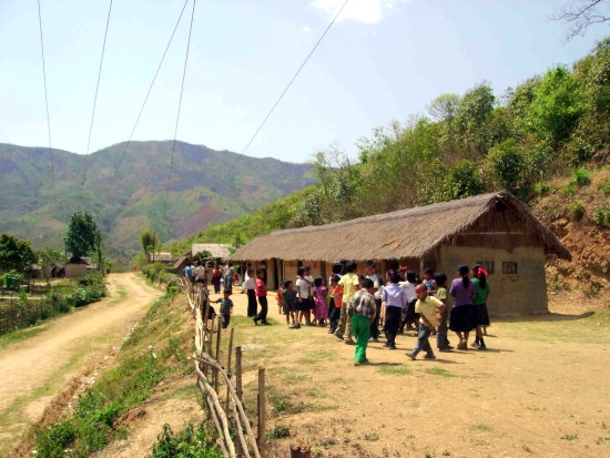 SACSAS School at New Dampi In Churachandpur district about 28 kms from Moirang