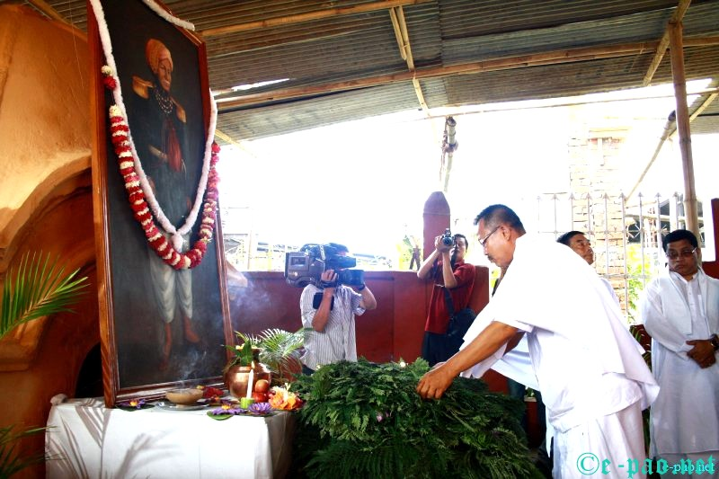 Patriots' Day Observation at Thangal General Temple complex, Palace Compound :: 13th August 2012