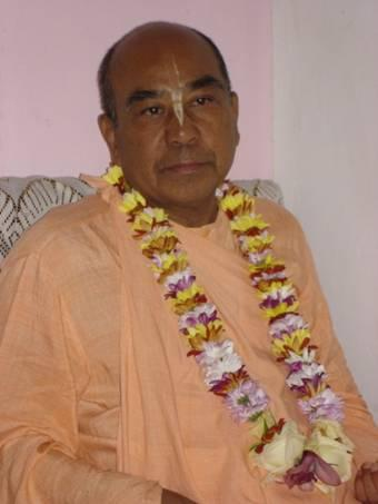 5 days with Bhaktisvarupa Damodara Swami By M Asnikumar
