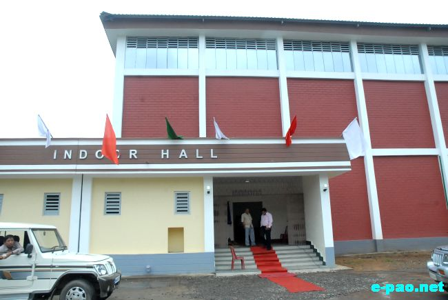 Sports Hostels, Indoor Stadium inuagurated at Khuman Lampak Complex :: July 20 2011