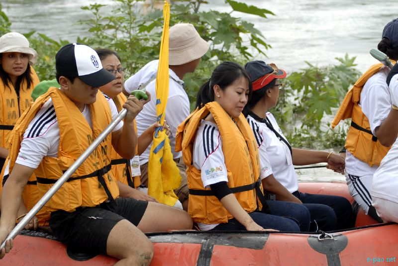 The Spirit of Imphal River Rafting Expedition 2012 (Khuman Lampak to Laiphakpam) :: 16 September 2012